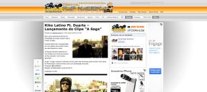 Portal Rap Nacional fortalecendo na divulgação deste vídeo do som de apresentação de Kiko Latino com participação do Duarte - A Saga...